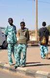 Military-style Sudanese school uniforms