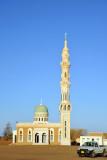Mosque with an impressive minaret