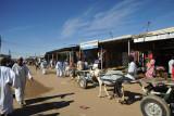Busy little main street of El Daba