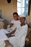 Friendliy people of El Daba