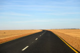 Sudan's Northern Highway on the West Bank of the Nile heading towards New Dongola