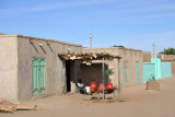 Kerma, a typical looking village in this part of Sudan