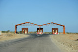 Port Sudan northern toll booth/check point