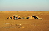 A pair of tents, Eastern Sudan