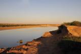 The Atbara River near Khashm el Qirba, Sudan