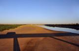 Crossing the bridge over the Atbara River at Kashm el Qirba, Sudan