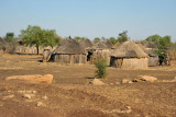 As we continue west from Al Gedarif, the villages retain a distinctly African look