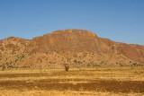 A small mountain ridge  - Jebel Abu Khudud