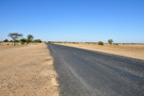 The road leading to Khartoum from Eastern Sudan