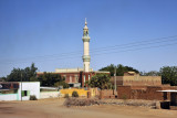 Mosque in a town along the southern Blue Nile