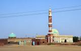Mosque along the Blue Nile southeast of Khartoum