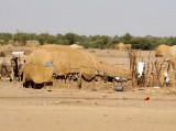 Village of tent-like huts, Gezira-Sudan