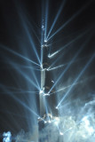 Burj Khalifa Grand Opening display