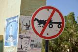 No Speeding Donkey Carts