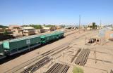 Railroad yard, Atbara - Sudan Railways