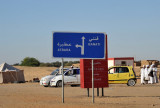 Another new road in Sudan - 13km south of Merowe to Atbara across the Bayuda Desert