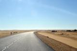 New road across the Bayuda Desert - ca 260 km to Atbara