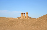 The ancient Egyptian temple of Sesibi on the West Bank of the Nile, Nubia
