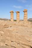 Ruins of the Temple of Aten built by Akhenaten