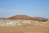 The Nubian village at Sesibi