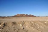 The harsh desert surrounding Sesibi