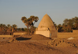 Domed structure in a village just south of Soleb
