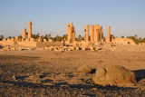 Temple of Soleb, late afternoon