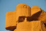 Broken column, Temple of Soleb