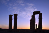 Temple of Soleb at sunset