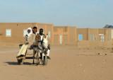 Donkey cart, Nubian village of Soleb