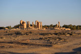 We still haven't seen another tourist since leaving Khartoum