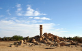 The Temple of Seddenga was built by Pharaoh Amenhotep III to deify his wife Tiye