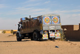 Rugged Sudanese truck serving Northern Nubia