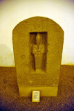 Unfinished granite stela with statue of Osiris found in the chapel of the Pyramid of Senkamenseken at Nuri