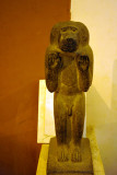 Baboon statue recovered from Temple of Amun erected by Tahargo at Kawa (684-680 BC)