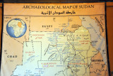 Archaelogogical Map of Sudan, Sudan National Museum