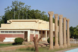 Ancient Columns at the entrance to the Sudan National Museum