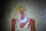 Tomb of Qalhata , the god Amseti, one of the four Sons of Horus