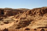 Wadi along the desert road between Karima and El Kurru