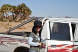 ...so we managed to talk Mahmoud into bringing us to Deir Ghazali