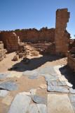 Paving stones of the church, Deir Ghazali