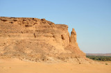 Jebel Barkal with its distinctive pillar