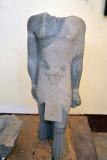 King Senkamaisken wearing high priest's robe, Napatan (640-620 BC)