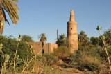Ancient Minaret along the NileFertile strip along the East Bank of the Nile between El Kurru and Karima