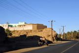The east bank road between El Kurru and Karima