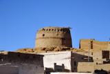 Stout circular watchtower between El Kurru and  Karima on the East Bank of the Nile