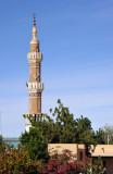 Minaret of El Daba from in front of Secret Police HQ