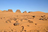The Pyramids of Meroë were discovered by western science in 1821