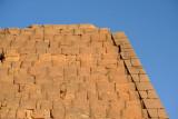 Detail of pyramid Beg. N8 - the tomb of Nahirqa(?) (Nayakhensan-mery-Isis ?)