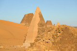 Several pyramids have been reconstructed by the Sudan Antiquities Department